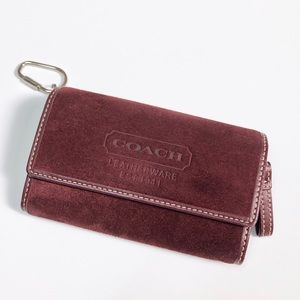 Coach Suede Wallet